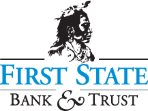 First State Bank and Trust Logo - Mobile